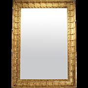 Massive Antique French Period Napoleon III Mirror