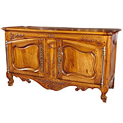 Grande 18th Century Walnut Wood Buffet Arlesian