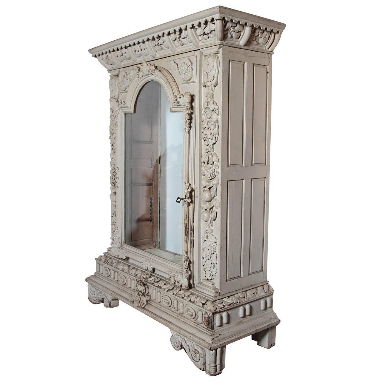 Circa 1830 Chateau Vitrine from the Southwest of France