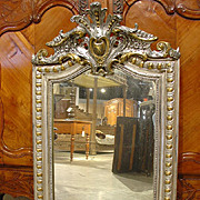 Antique Louis Philippe Style Mirror, Circa 1910