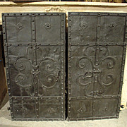 Circa 1700 Iron Doors from Austria
