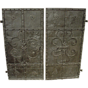 Circa 1700 Iron Doors from Austria