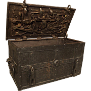 17th Century Iron Strongbox from a Ship