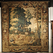 A Rare 17th Century Brussels Tapestry by Ian Van Leefdael