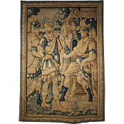 17th Century Wool Tapestry from Flanders