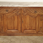 Antique Regence Style Buffet de Chasse, Loire Valley France, Mid 1800s