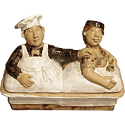A Painted French Baking Terrine from Provence