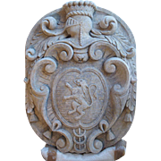 A Carved Limestone Plaque from Italy