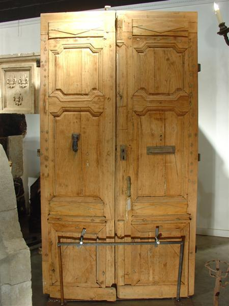 Period Antique Directoire Doors-Poplar Wood, Circa 1800