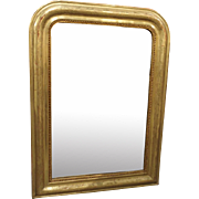 19th Century French Giltwood Louis Philippe Mirror