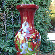 Antique Grande Vase 'Bourg La Reine'