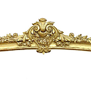 19th Century Giltwood Valance from France