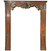 Antique French Boiserie Door Surround from the 1700s