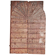 Pair of Large 18th Century Farm Doors from Belluno Italy