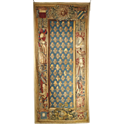 Important 18th Century Tapestry, Guillaume Wernier, Lille, France Circa 1725