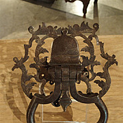 18th Century Iron Door Knocker from France