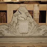 A Carved Venetian Marble Overdoor Circa 1800