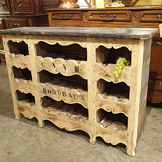 """""""Cave Bordeaux"""" Poplar Wine Carrier from France"""