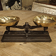 Antique 10 Kilogram Scale from France, Circa 1900