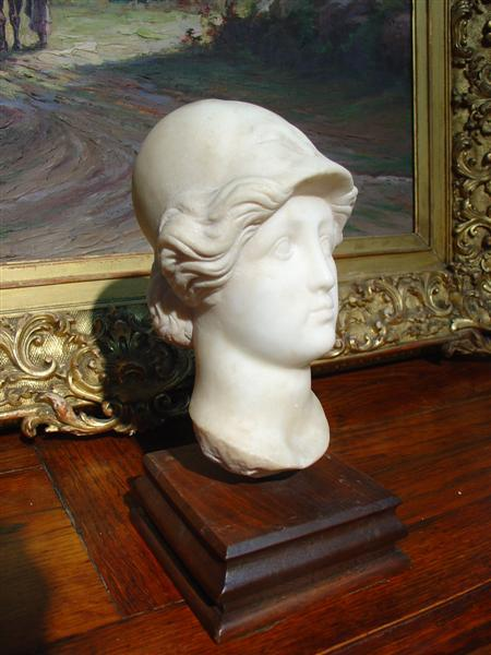 Antique European Marble Sculpture