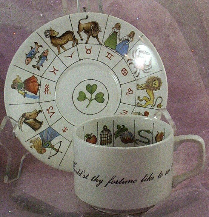 Would'st Thy Fortune Like to See? Taltos Fortune Telling Teacup ~ Jon Anton ~ England