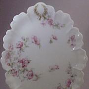 """Haviland Limoges France """"The Miramar"""" Pattern Oval Serving Platter"""
