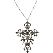 Sterling Cherub Renaissance Revival Cini Style Pendant on Sterling Chain