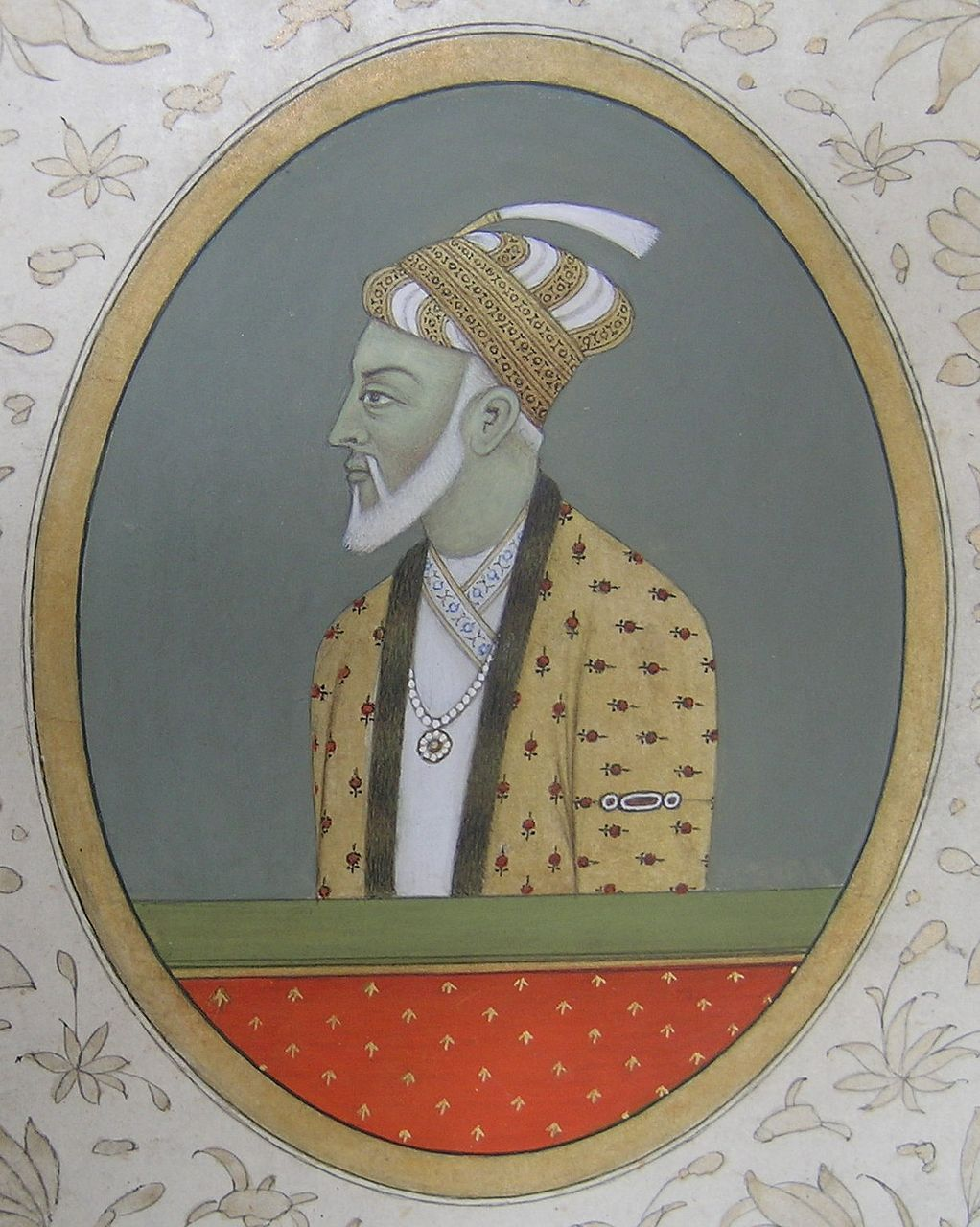 Indian Islamic Mughal miniature painting Aurangzeb 17th / 18th Century
