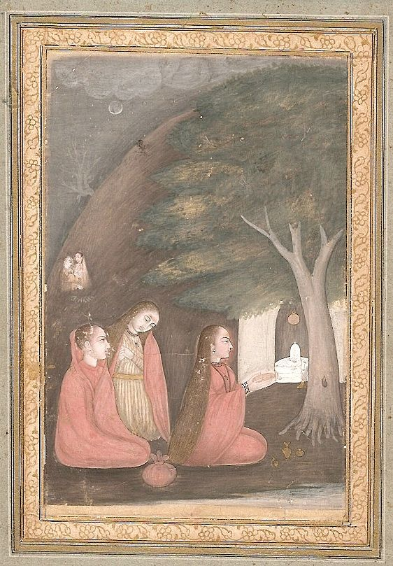 Indian miniature painting - Bhairavi Ragini