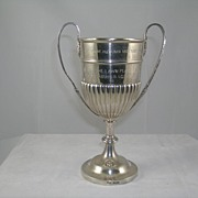 Oomersi Mawji Kutch Anglo Indian Colonial Silver Trophy