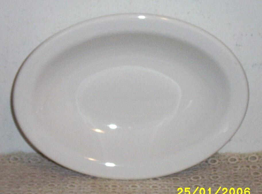 Homer Laughlin...Best China..White Oval Vegetable Serving Bowl