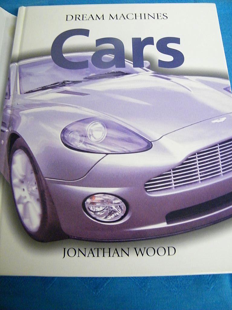 Item ID: BOOK DREAM MACHINES CARS In Shop Backroom