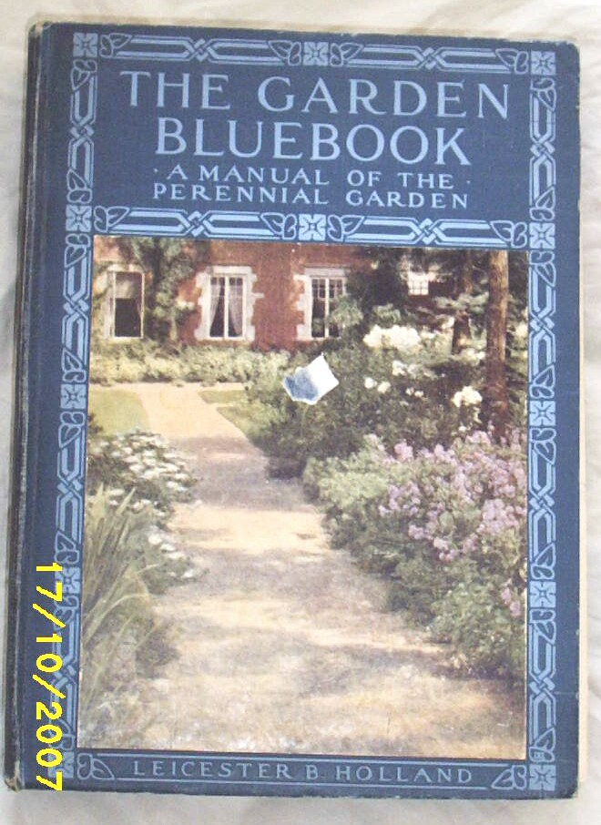 Item ID: BOOK GARDEN BLUEBOOK-2263 In Shop Backroom