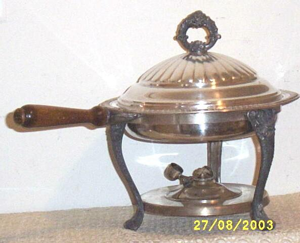 Item ID: CHAFING DISH-1468 In Shop Backroom