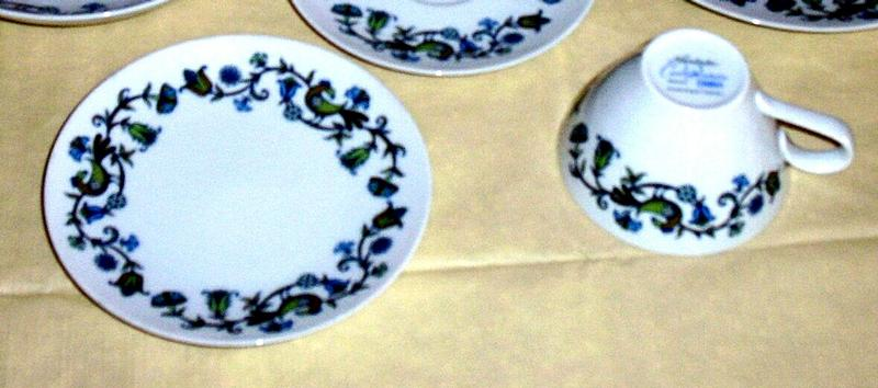 "Noritake  China Pastoral Pattern Cook ""N Serve Cup/Saucer"