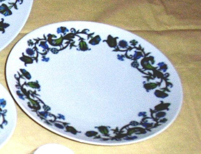 "Noritake China Pastoral Pattern Salad Plate [8 1/4""] Cook 'N Serve"