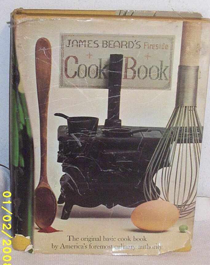 Vintage...Fireside Cook Book By James Beard..1949...1217 Recipes!!