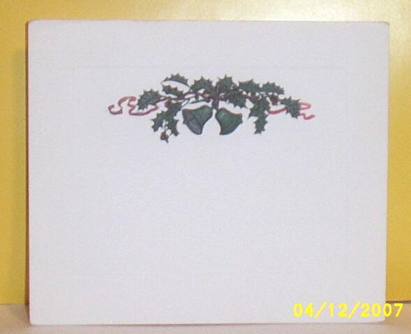Item ID: EPHEMERA-CHRISTMAS-BELLS--2319 In Shop Backroom