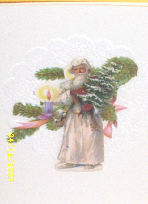 Item ID: EPHEMERA-FATHER TIME-CARD-2322 In Shop Backroom