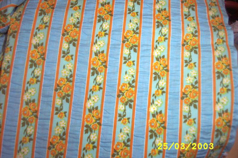 Wamsutta Wallpaper Stripe Cotton Sample Cut Seersucker Fabric In Tones Of Aqua
