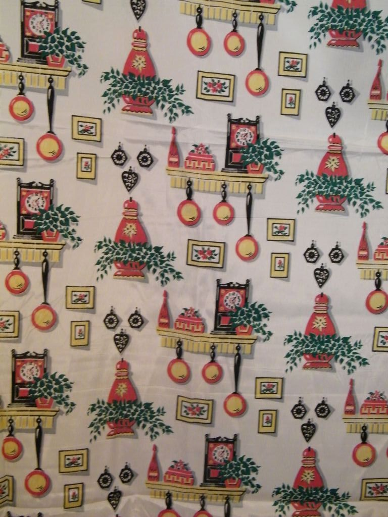 Michael Miller Retro Kitchen Fabric Home Ec Yardage. Kitchen ...