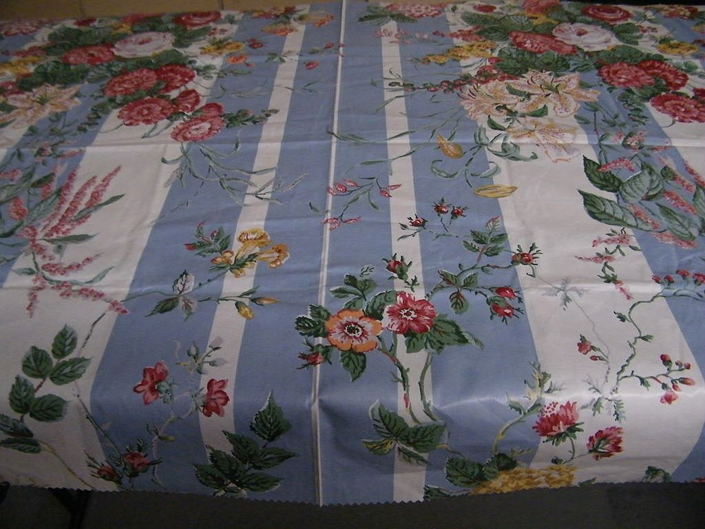 "DECORATOR ""LOT"" of 9  Cotton Fabric Cuts / Samples..Florals / Birds / Sateen & Chintz..Excellent Condition"