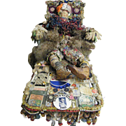 The BAG LADY Folk Art By Mario Rivoli