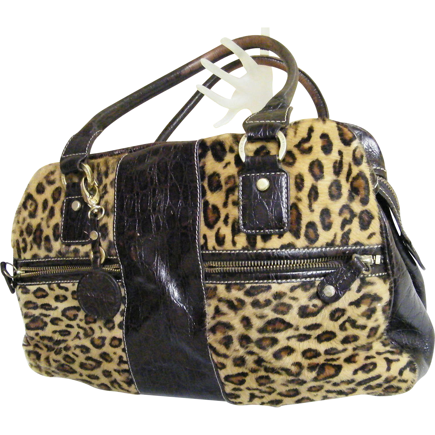 Santa Cruz Leopard Skin Backpack