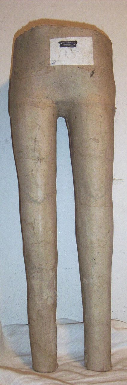 Vintage...MANNEQUIN...Child's Torso...Waist-To-Feet...Paper Mache
