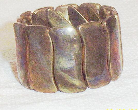 Vintage..Metal Expansion Bracelet...3 Bracelets Available