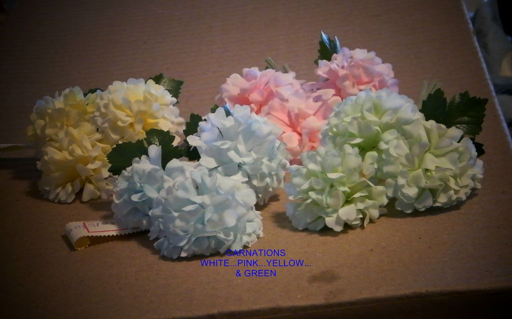 Mini Hydrangea Made in EAST Germany..Vintage Millinery Flower..NEW/Old Stock...4 Colors Available