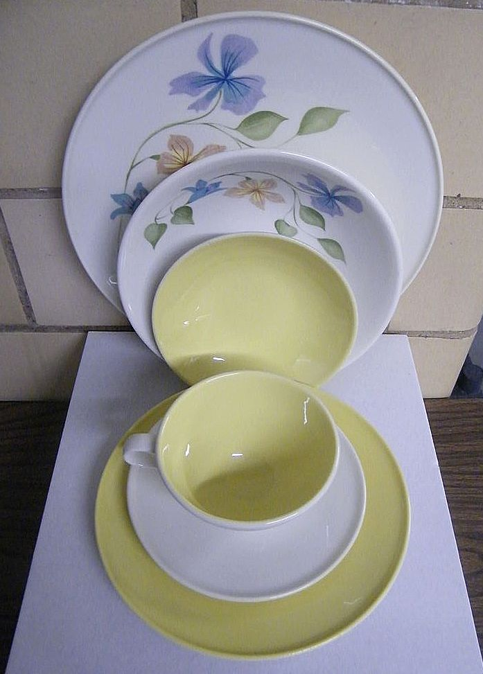 1950's BEN SEIBEL For Iroquois INFORMAL ..Service For 4..6-Piece Place Settings...2 Available