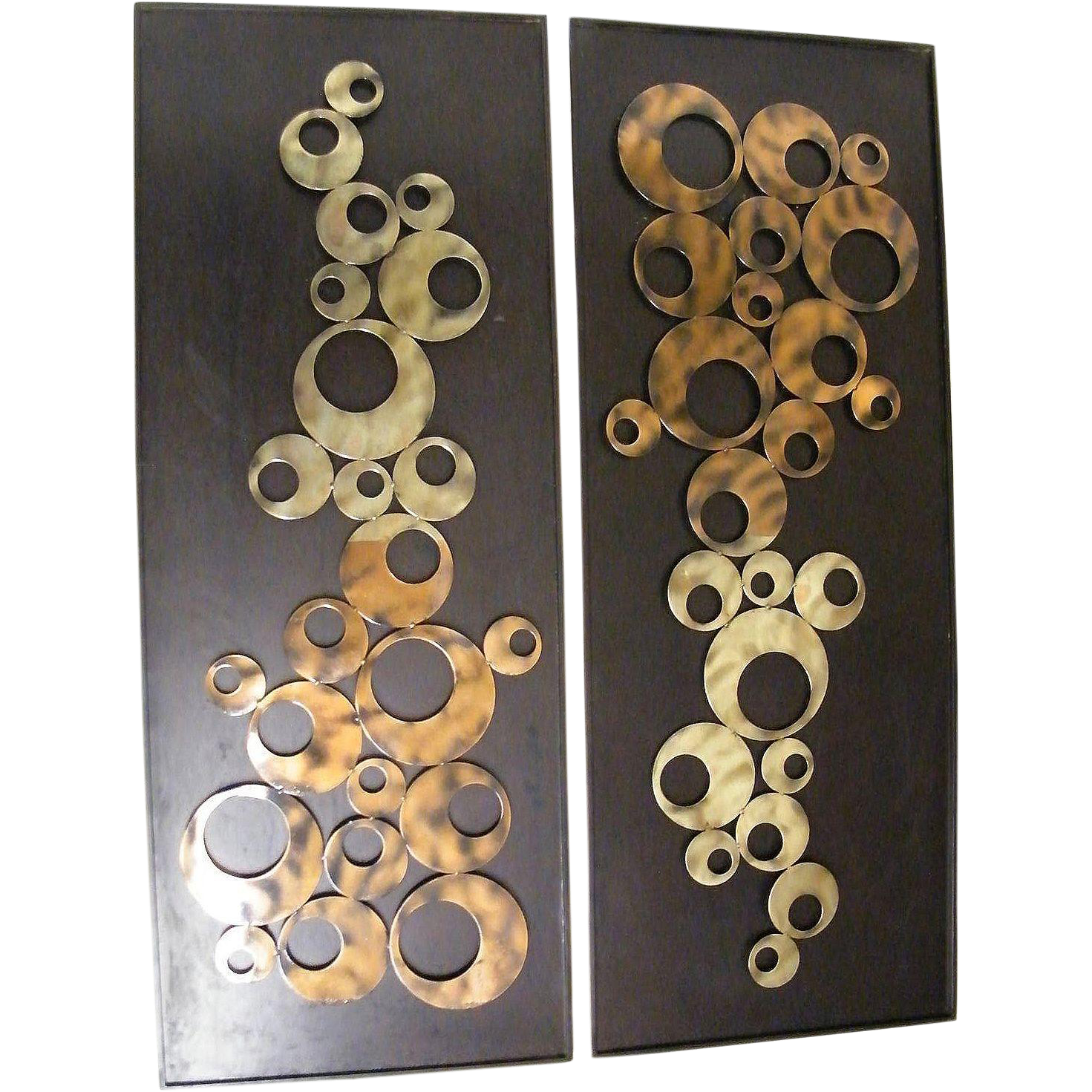 Mid Century Modern Metal Sculptures...2 Same Available