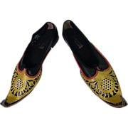 Wardrobe From NYC Opera HAROUN...Maharajah Shoes...Men's Size 12W